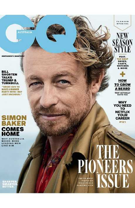 The March/April issue of GQ.