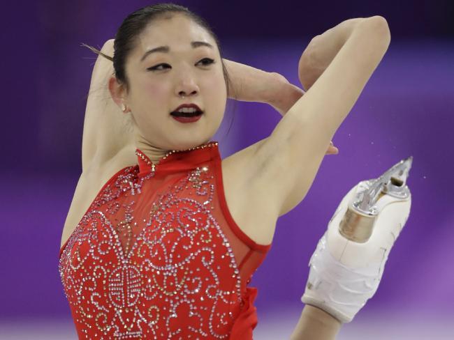 Mirai Nagasu had a tough Games.
