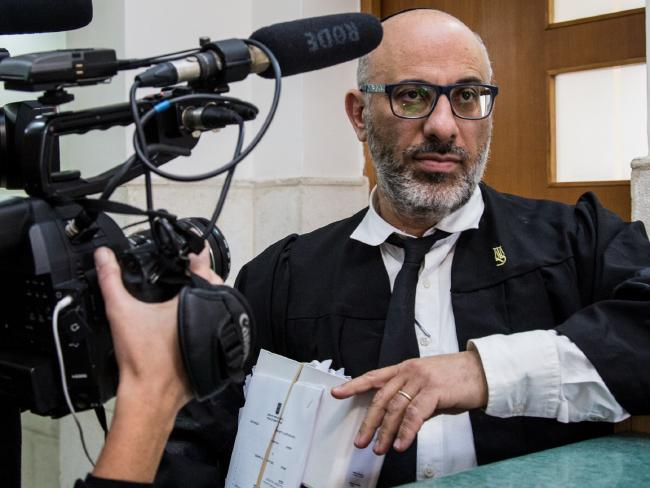 Lawyer Yehuda Fried.  Picture:  Franck Bessiere