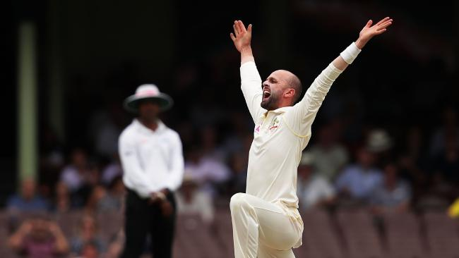 Nathan Lyon was 2017's top wicket-taker in Test cricket.