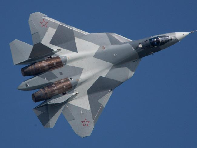 The Su-57 is big, but that brings its own advantages.