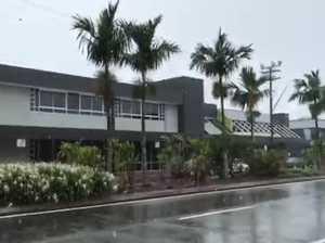 It's raining in Mackay
