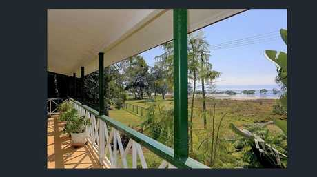 This home at 10 Robertson St, Boobooroo, has views of Fraser Island.
