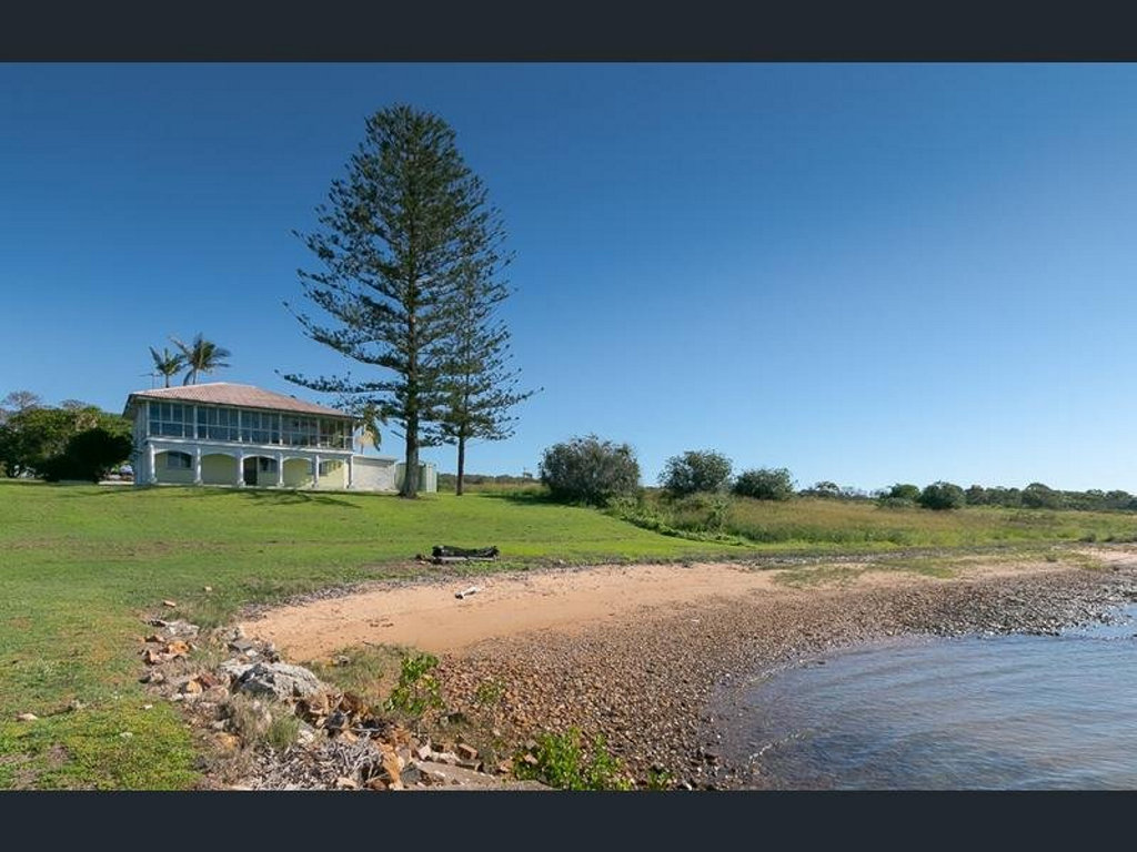 This stunning Booral home has plenty of property as well as a waterfront view from almost every room in the house.