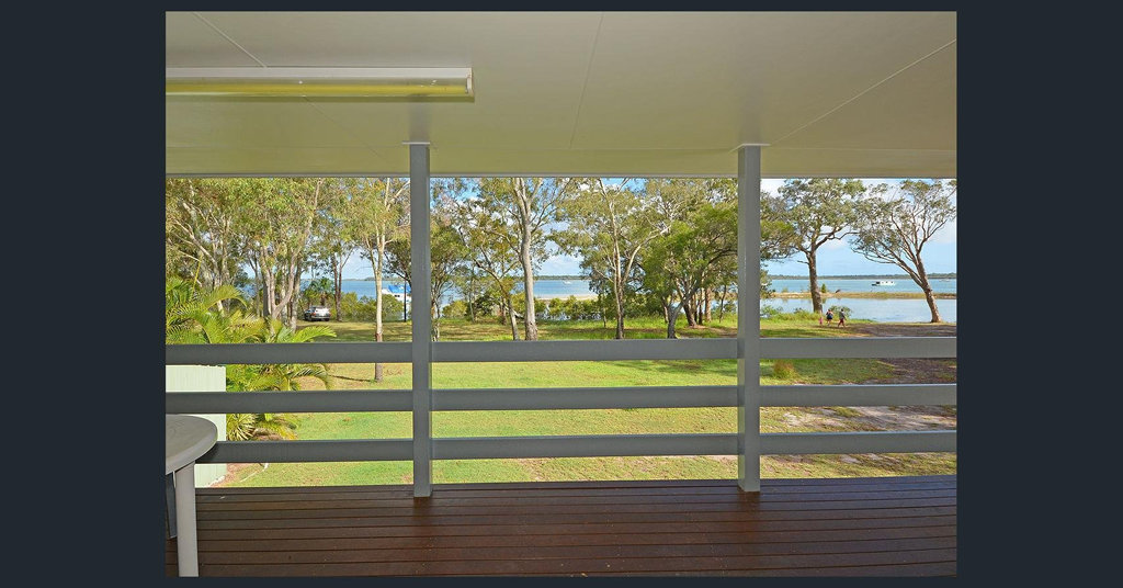 The view from 100 Riverview Dr in Burrum Heads.