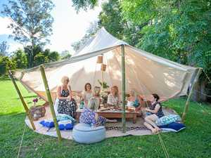 Coast-first: Glamping, movies and a personal butler