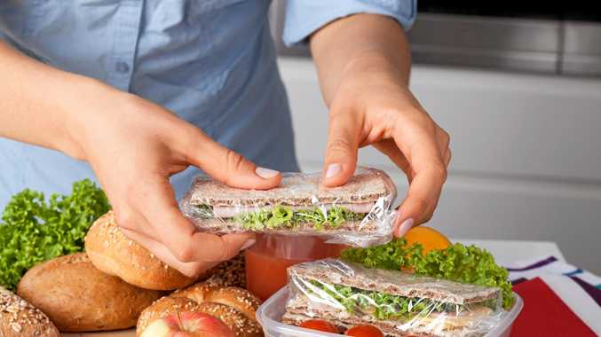 GET PACKING: If you make your lunch at home you've got much more control over what goes in it.