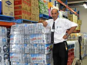 Water demand floods in
