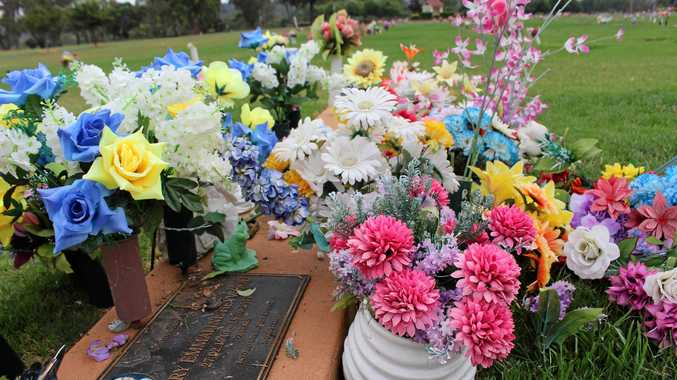Grave sites at the Warwick Cemetery were disrespected by vandals who stole and damaged flowers, decorations and ornaments from surrounding graves.