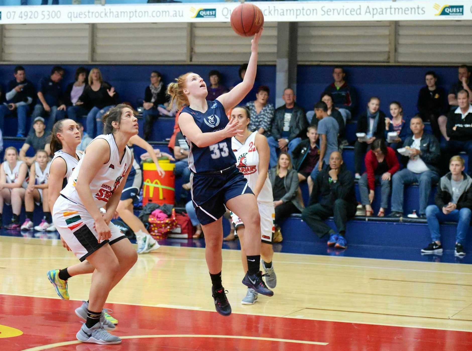 Basketball: Cyclones' Briana Bailey.