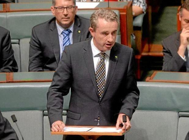 Kevin Hogan MP .addresses parliament