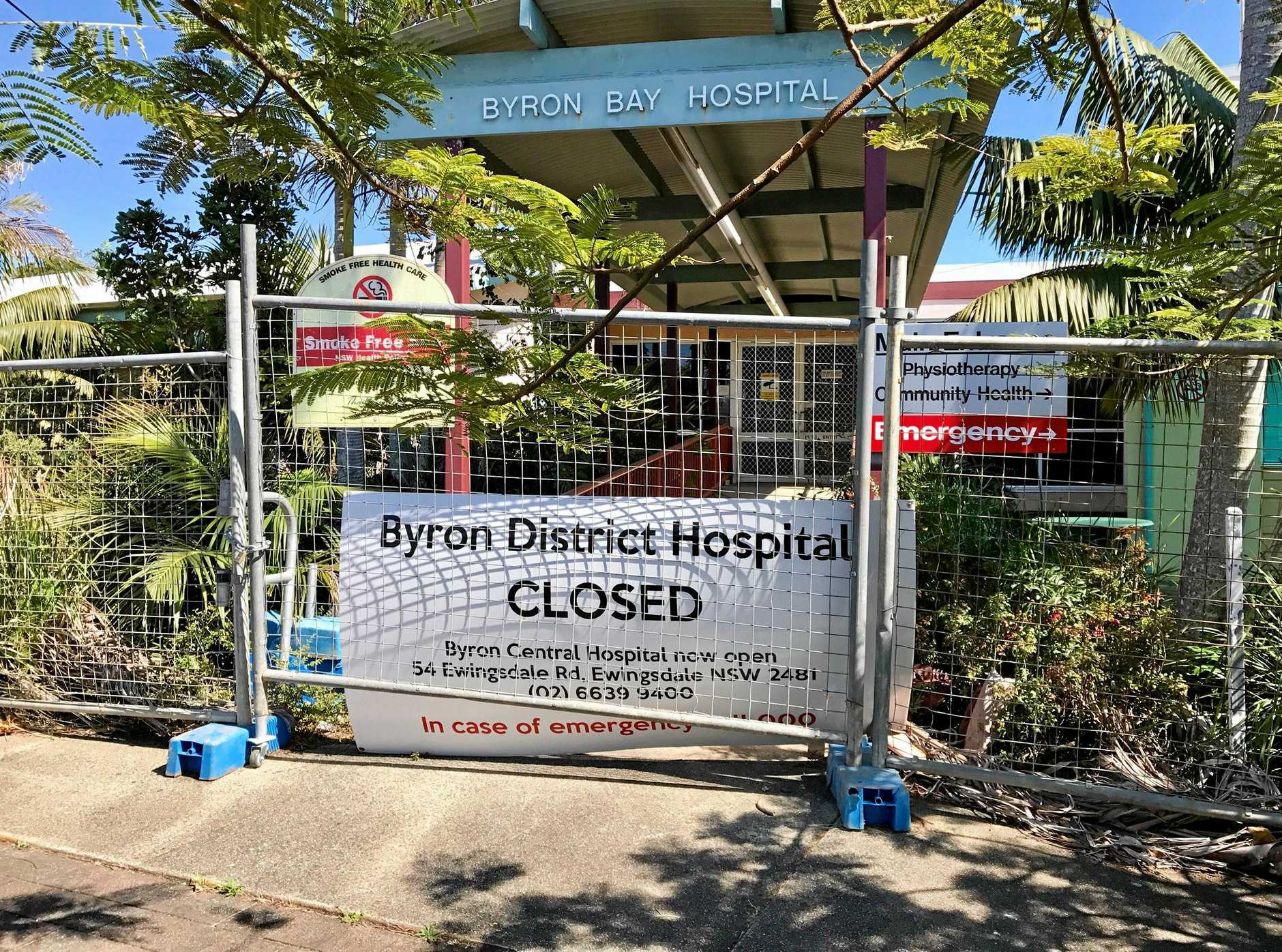 COMMUNITY PLAN: The old Byron Bay hospital site may stay in community hands.