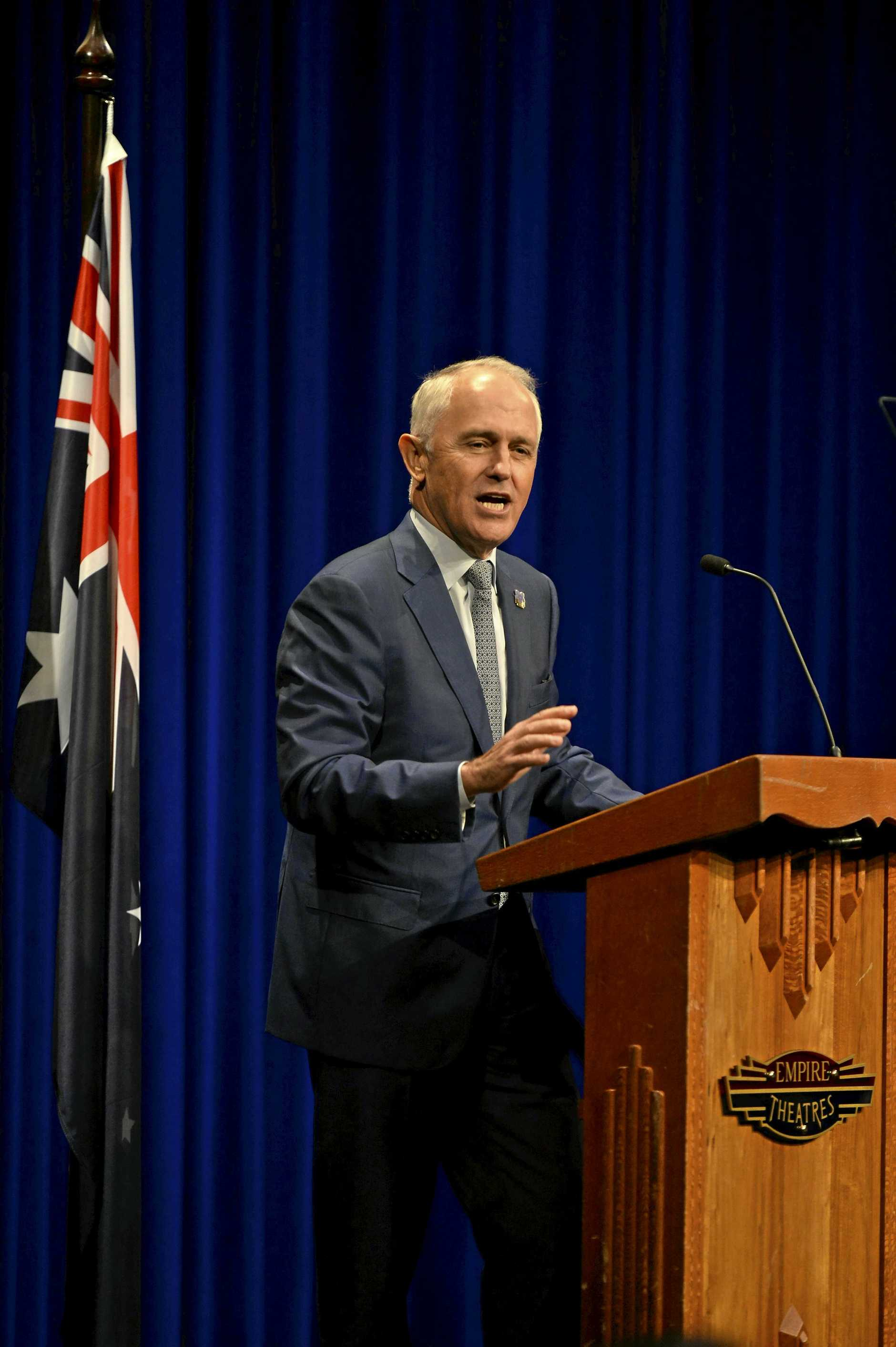 Prime Minister Malcolm Turnbull has slammed Bill Shorten over Adani.