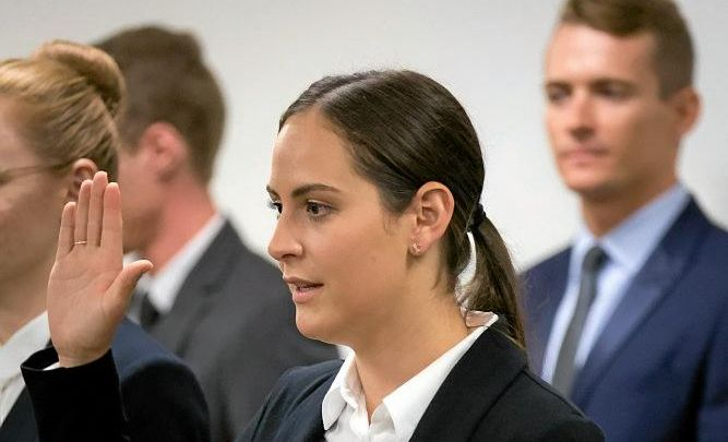 Palmwoods local, Steffi Mulrooney appointed as a Personnel Capability Officer in the Royal Australian Air Force this week