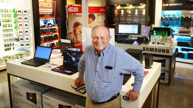 Harvey Norman chairman Gerry Harvey. Picture: John Feder/The Australian