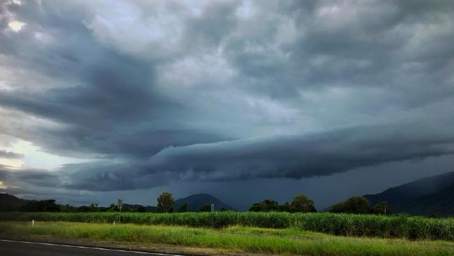 Storms set to roll in over Cairns again this afterno. PHOTO: Jodi Jolie