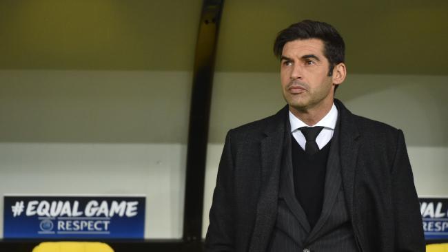 Donetsk's Portuguese head coach Paulo Fonseca