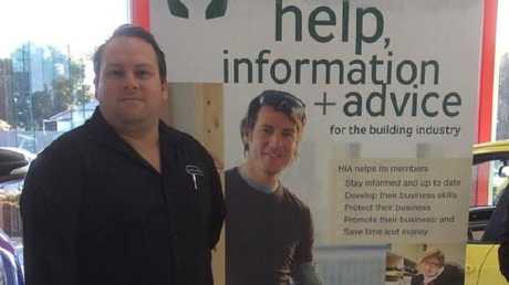 Andrew Thew, when he was construction manager for Q1 Homes.