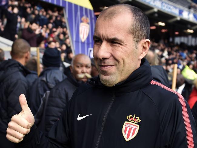 Monaco's Portuguese coach Leonardo Jardim