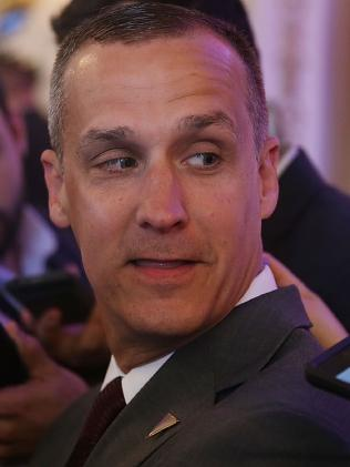Corey Lewandowski was Donald Trump's first campaign manager. Picture: AFP