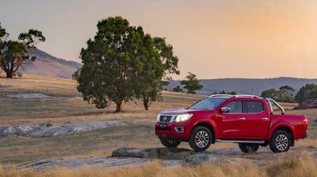 At home in the outback: Nissan's Navara. Pic: Supplied.