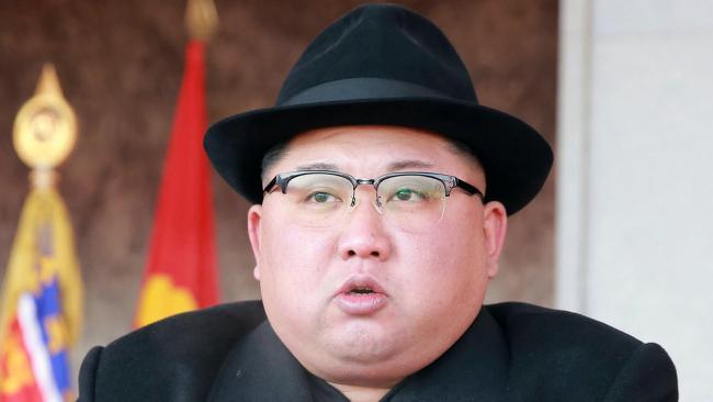 NORTH Korean leader Kim Jong-un and his late father Kim Jong-il used Brazilian passports to visit Western countries. Picture: KCNA/Korea News Service via AP