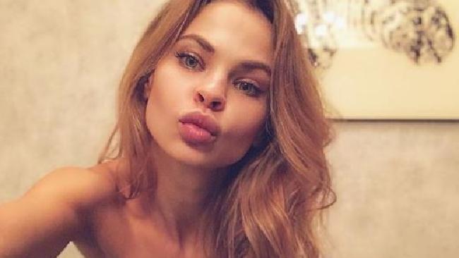 Nastya Rybka pictured on Instagram.