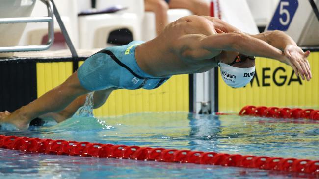 Mitch Larkin is chasing 100m-200m backstroke success at the trials.