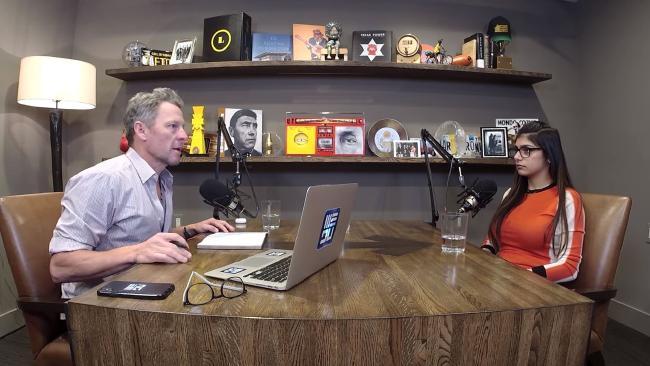Lance Armstrong interviews Mia Khalifa.