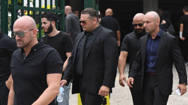 Hawi was laid to resk last week following his gangland murder.