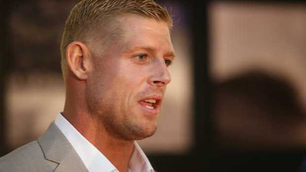 Mick Fanning at an awards night last year. Pic Jono Searle.