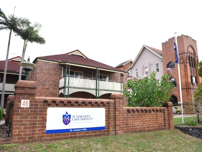 St Vincent's Care Services in Mitchelton. Picture: John Gass/AAP