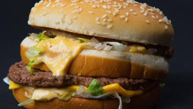Big Mac. Picture: AFP/Paul J. Richards