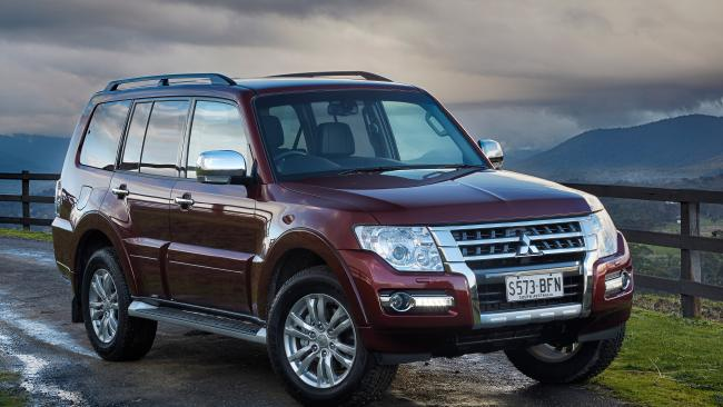 The 2016 Mitsubishi Pajero is one car on the list.