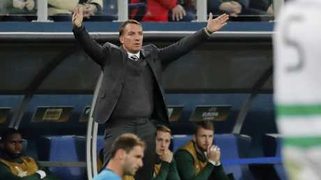 Celtic's head coach Brendan Rodgers