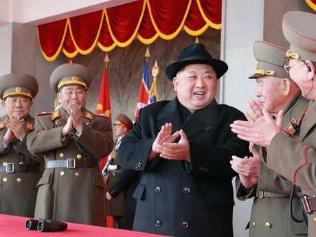 Kim Jong-un used a Brazilian passport to visit the west. Picture: AFP/KCNA via KNS/JiJi Press