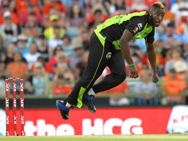 Andre Russell could be in for a Sydney switch-up.