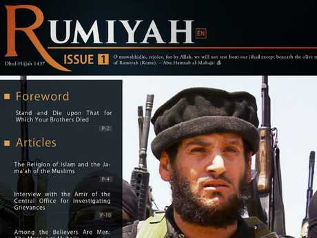 Passages in the article were taken from of Islamic State propaganda magazine Rumiyah.