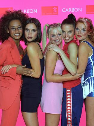 The Spice Girls. Picture: Rex Features, Splash News