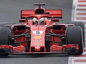 Vettel hands Ferrari F1 testing boost