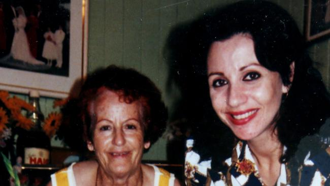 Alex Dapontes (right) with her mother Martha Dapontes.