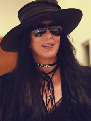 Singer Cher lands in Sydney