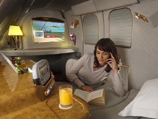 Emirates first class.
