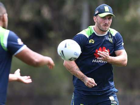 Josh Hodgson will start in the No.9 jersey. Picture Kym Smith