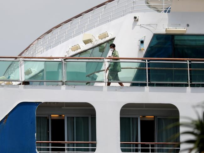 Norovirus struck eight Sun Princess journeys. Picture: Tara Croser