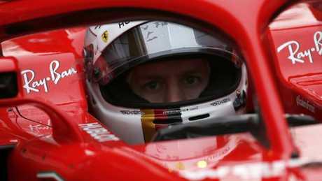 Sebastian Vettel and Ferrari got an early jump on rival Mercedes.