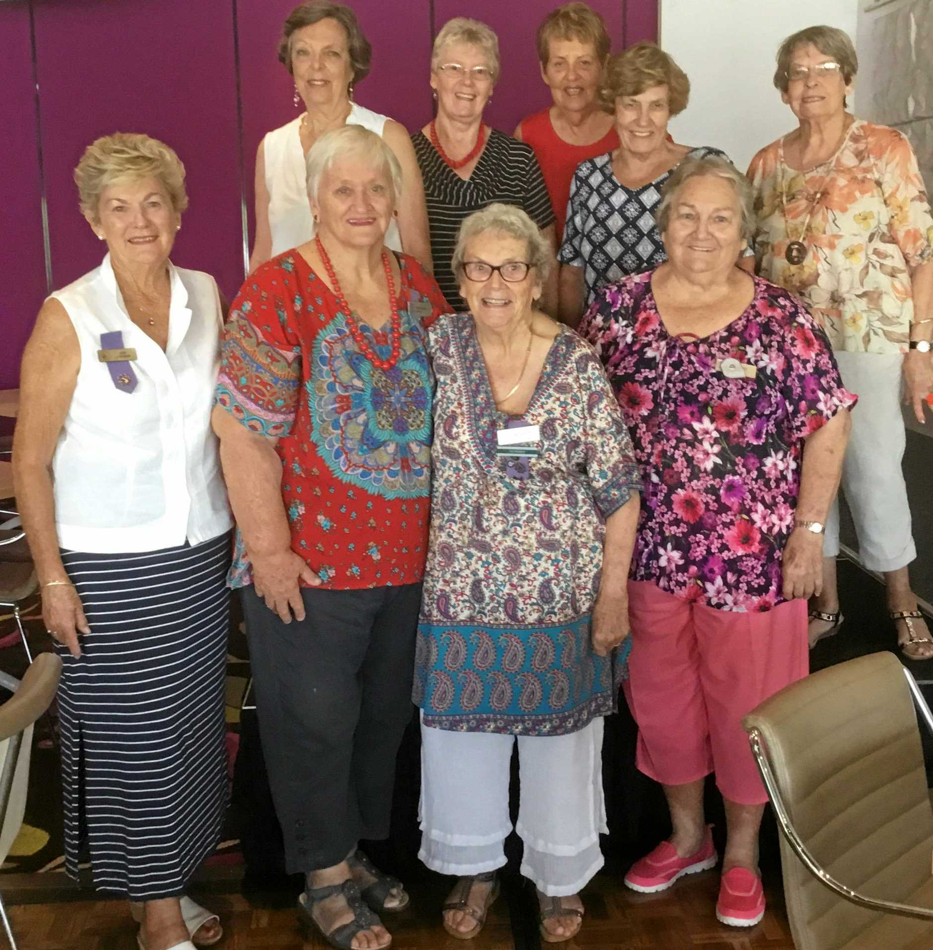 LOVELY LADIES: Second from left is President, Marie Coyne and the 2018 Committee of the Noosaville VIEW Club.