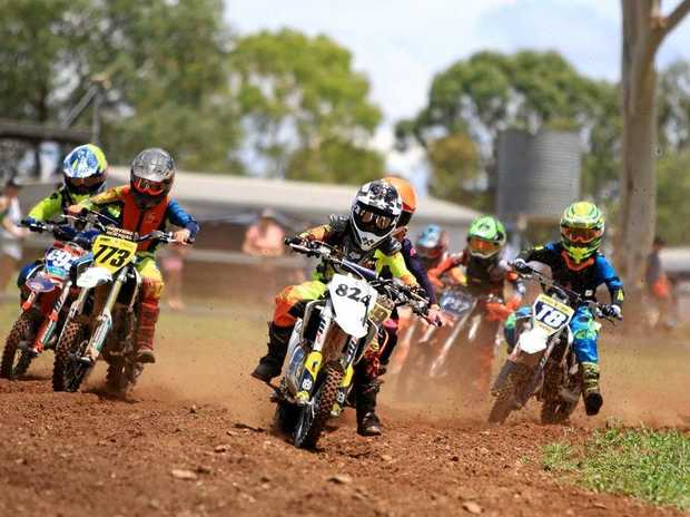 Action from the MPE Suspension Central Queensland Motocross Championships at Emerald on the weekend.