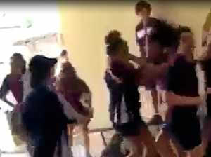 Mass suspension after violent school brawl