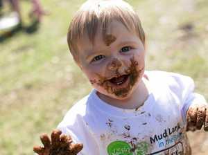 Muddy dreams come true for Ipswich kids
